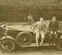 Vauxhall 14/40 tourer