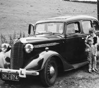 Pre-war Vauxhall 14 car