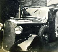 Vauxhall ASY 12hp car in the 1930s