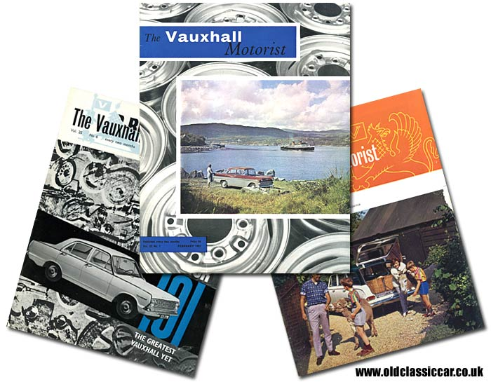 Vauxhall cars magazines from 1961 to 1964