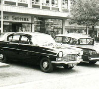 Another PA Vauxhall saloon car.