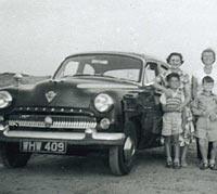 A 1956 Vauxhall Wyvern