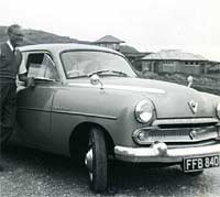 3/4 front view of the Vauxhall