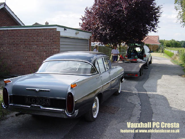 Vauxhall PA Cresta - as purchased