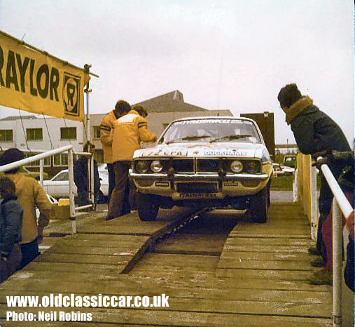 Vauxhall Magnum on the starting ramp