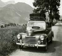 The Vauxhall tours in Europe