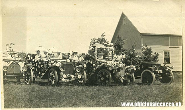 Stanley steam car and other cars