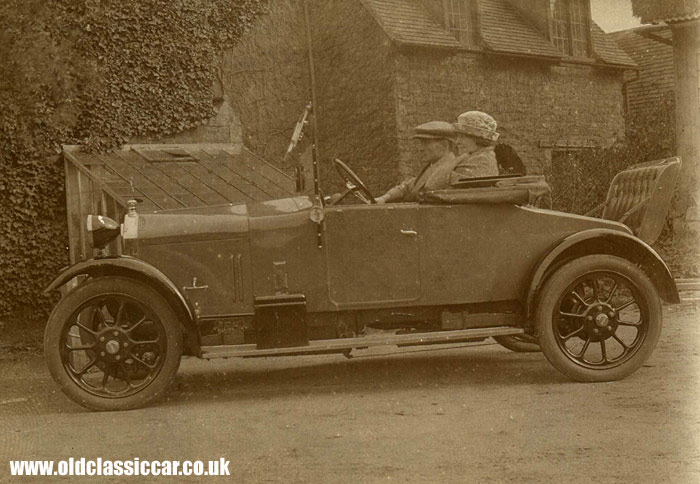Wolseley touring car of the 1920s