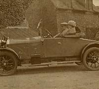 1920s Wolseley car