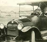 Vintage Buick tourer from 1917ish