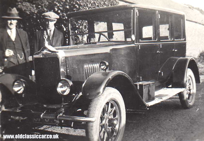 A Standard motor-car of the late twenties