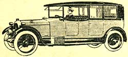 Chauffeur driven car