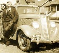 1936 Willys 77 sedan