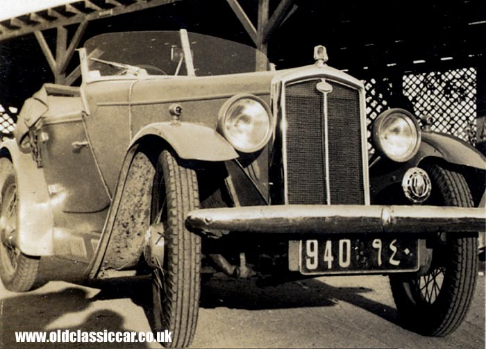 Another Wolseley sports car