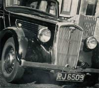 Pre-war Wolseley 14 car