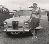 Wolseley 1500 in white