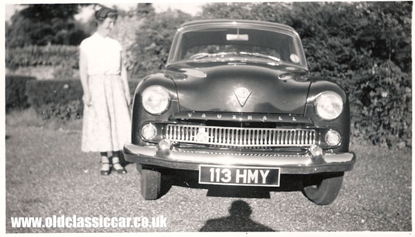 1950's Vauxhall Wyvern car.