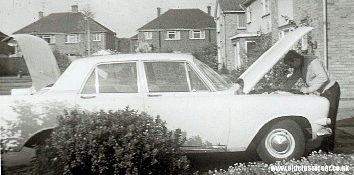 Mk3 Ford Zephyr seen in 1968