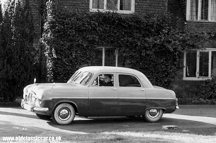 A Mk1 Ford Zephyr Zodiac Of The Mid 1950s