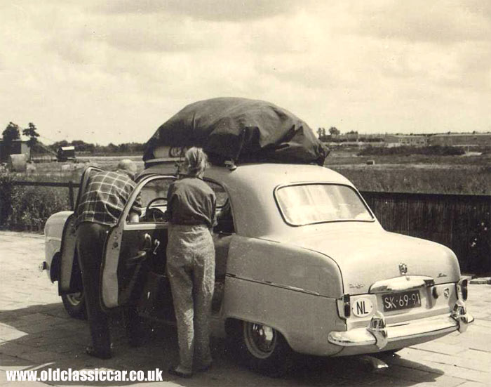 Ford Zephyr Six in Holland