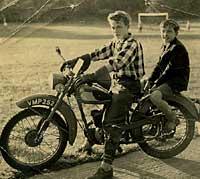 BSA Bantam motorbike