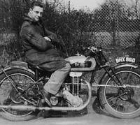 1934/1935 Excelsior motorbike