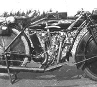 Indian motorcycle photograph