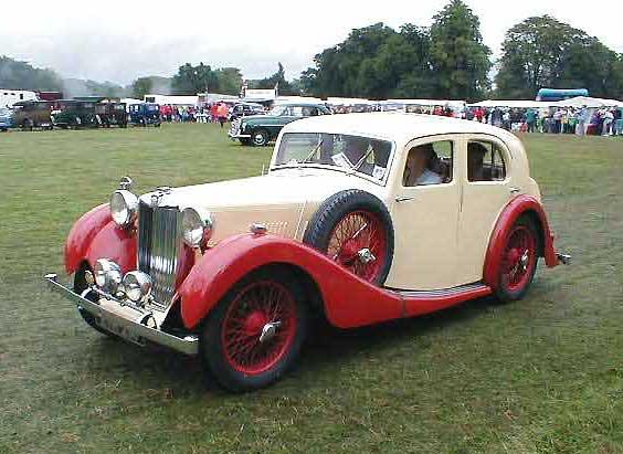 Vintage Mg Car 7
