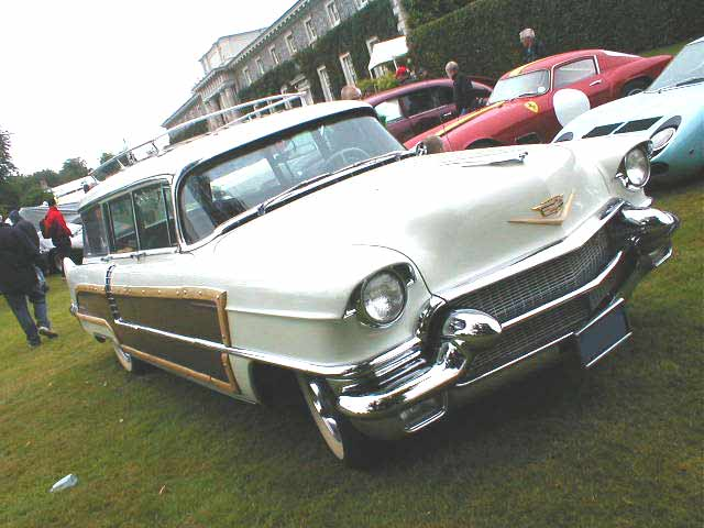 1950s Cadillac Station Wagon Photograph At Www Oldclassiccar Co Uk