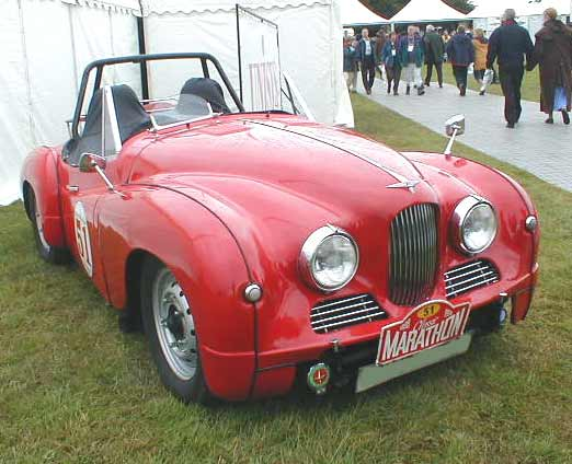 Jowett Jupiter racing car photograph