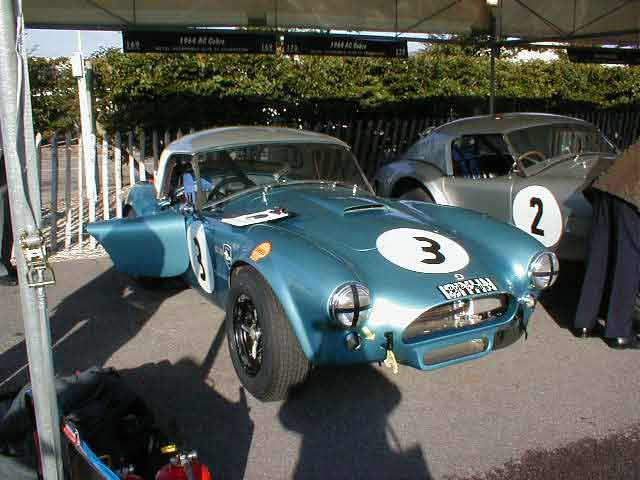 Ac Cobra Racing Car Photograph At Www Oldclassiccar Co Uk