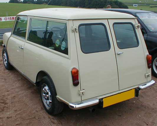 1970s Austin Mini Clubman Estate Photograph At Wwwoldclassiccarcouk