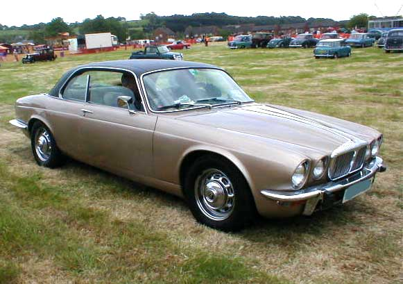 Daimler XJC coupe photograph