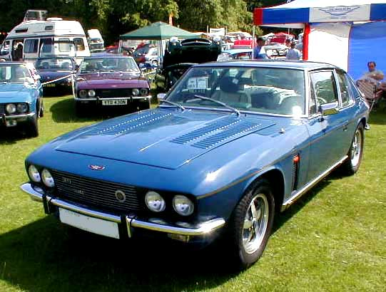 Jensen Interceptor photograph