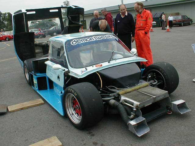Skoda racing car photograph