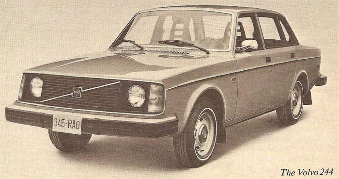 Volvo 244 of 1975
