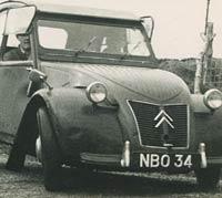 A 1956/1957 car
