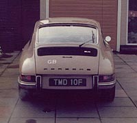 Rear view of the 912