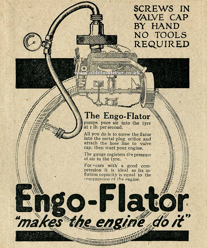 The Engo-Flator tyre pump