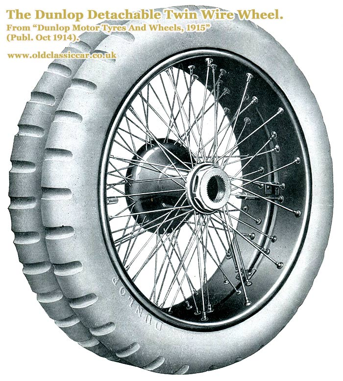 The Dunlop Twin-Wheel