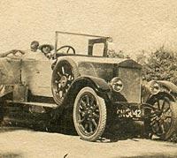 Another Albert 12hp touring car