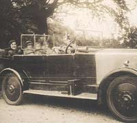 14hp tourer from 1923-1925