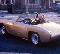 Ashley Roadster, rear view