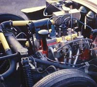 Tuned Ford 1172 engine