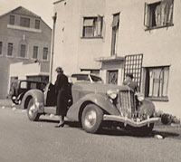 A 1935 Auburn Speedster