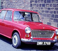 Another red 1964 Austin 1100