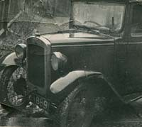 1930 Austin 7 before conversion into a special