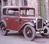 1934 Austin 7 colour photo