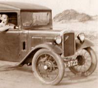 Austin 7 van
