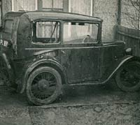 Austin 7 RL donor car